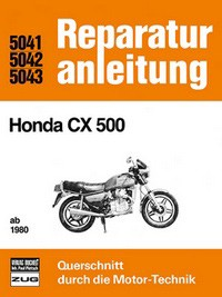 Motorbuch Engine book Repair instructions edition 5041 for HONDA CX 500