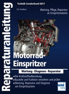 Motorbuch Engine book No. 6017 instruction manual motorcycle injection