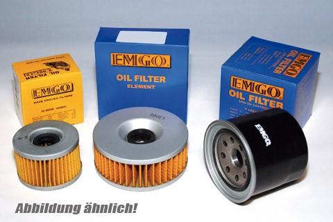 EMGO-Ölfilter Honda CBR 600/1000 F, Kawasaki ZX 636, 03-05 , Yamaha FZ 6 Fazer, 04-05, R1, 99-03, R6, 99-03, FZS 1000, 03-05