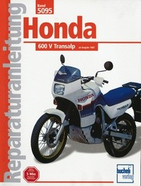 Motorbuch Engine book No. 5095 repair instructions HONDA XL 600 V Transalp (1987-)