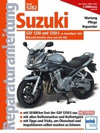 Motorbuch Bd. 5282 Reparatur-Anleitung SUZUKI GSF 1250, 07-