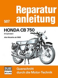 Motorbuch Engine book Repair instructions edition 507 for HONDA CB 750