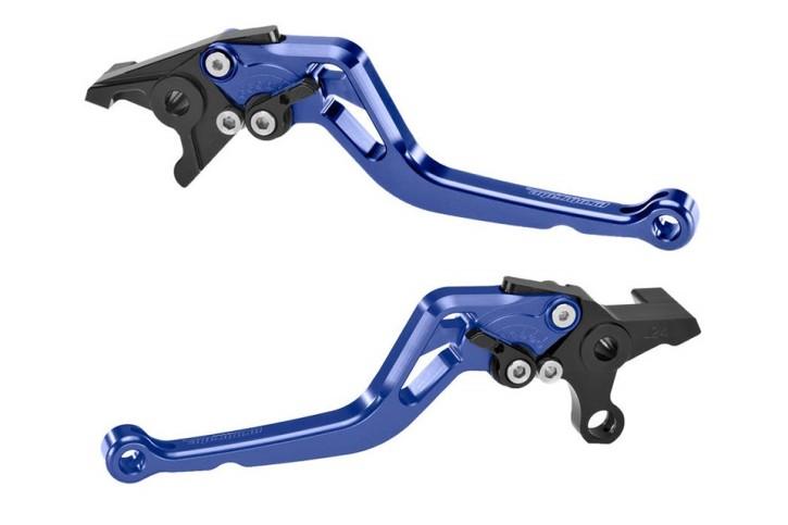 probrake Clutch- & brake lever set MIDI, blue