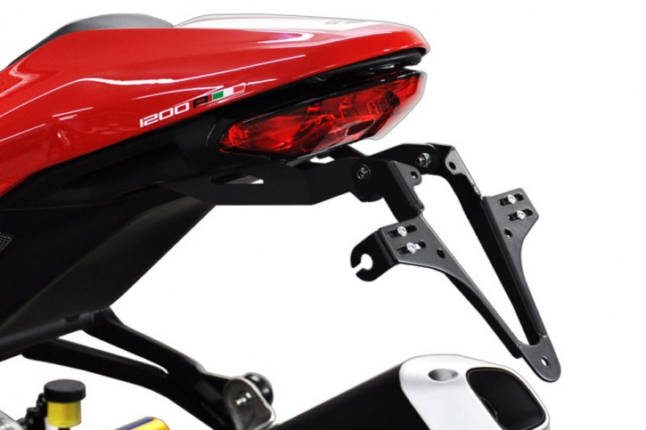 HIGHSIDER License plate bracket DUCATI Monster 1200 R, 16-