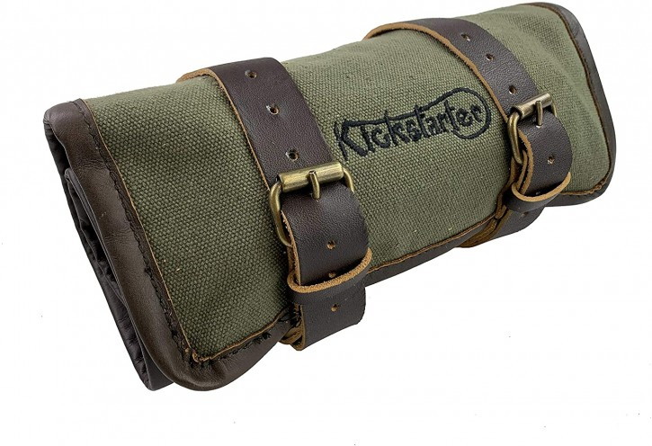 TOOL BAG, tool roll with large motorcycle tool kit