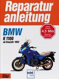 Motorbuch Engine book No. 5192 repair instructions BMW K1100,Bauj.92-99