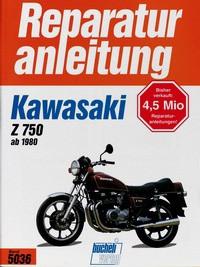 Motorbuch Engine book No. 5036 repair instructions KAWASAKI Z 750 ab 1980