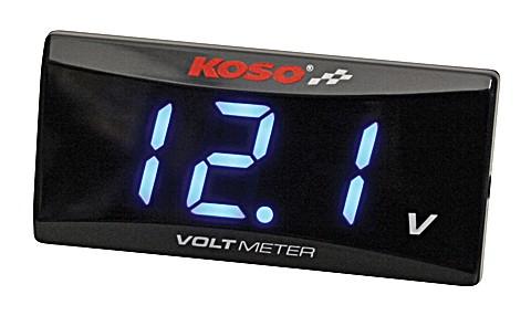 KOSO Volt meter for all 12 Volt DC batteries