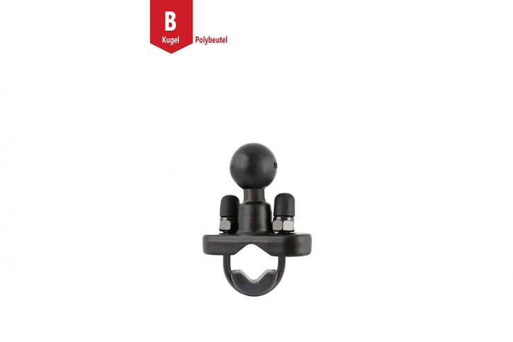 RAM Mounts Base with u-bolt - for 3/4 - 1.25 inches diameter