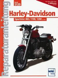 Motorbuch Bd. 5139 Reparatur-Anleitung HARLEY DAVIDSON Sportster-Modelle 883/1100/1200 ab