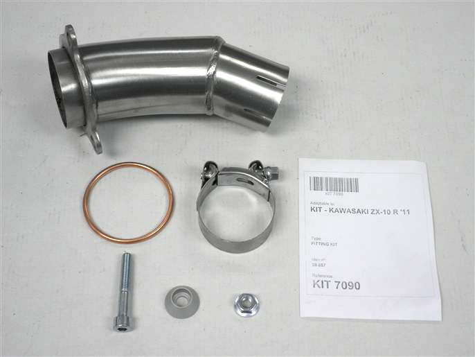 IXIL Adapter tube for ZX 10 R, year 11-