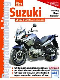 Motorbuch Bd. 5277 Reparatur-Anleitung SUZUKI DL 650 V-Strom 04-