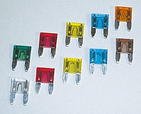 - Kein Hersteller - Mini-fuse 10 A, 10 pcs.