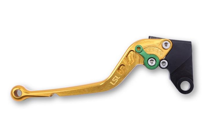 LSL Clutch lever L34, gold/green