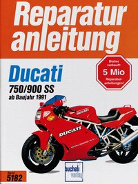 Motorbuch Engine book No. 5182 repair instructions DUCATI 750/900 SS