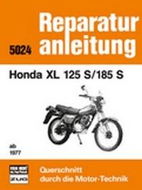 Motorbuch Engine book No. 5024 repair instruction HONDA XL 125 S/185 S