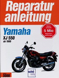 Motorbuch Engine book No. 5086 repair instructions YAMAHA XJ 550 80-