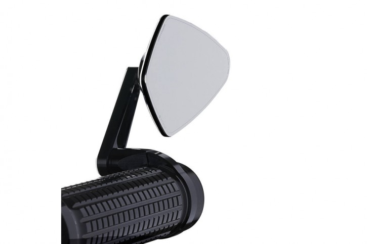 motogadget M.view blade, glass-free rearview mirror for handlebar ends