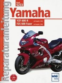 Motorbuch Engine book No. 5233 repair instructions YAMAHA YZF 600 Thundercat/FZS 600 Fazer (1996-/98-)