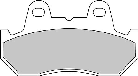 FERODO Sinter disc brake pad FDB 244 ST