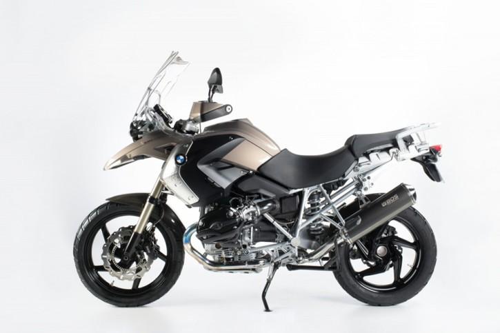 BOS Endschalldämpfer Hyperfox, BMW R 1200 GS/Adventure, 04-09, Carbon steel