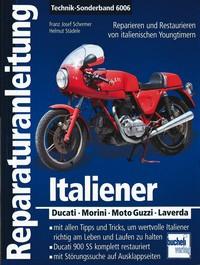 Motorbuch Engine book No.6006 instruction manual, Italian Motorbikes(DUCATI, Guzzi, Laverda, Benelli)
