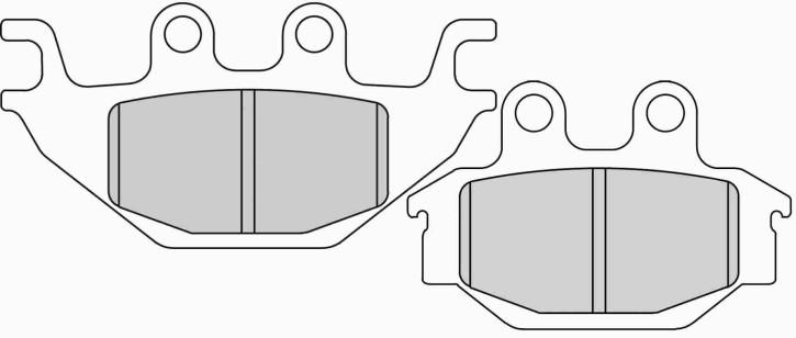 FERODO Sinter disc brake pad FDB2184 SG