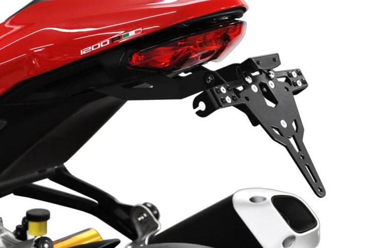 IBEX-Pro Kennzeichenhalter DUCATI Monster 1200 R, Bj. 16-17