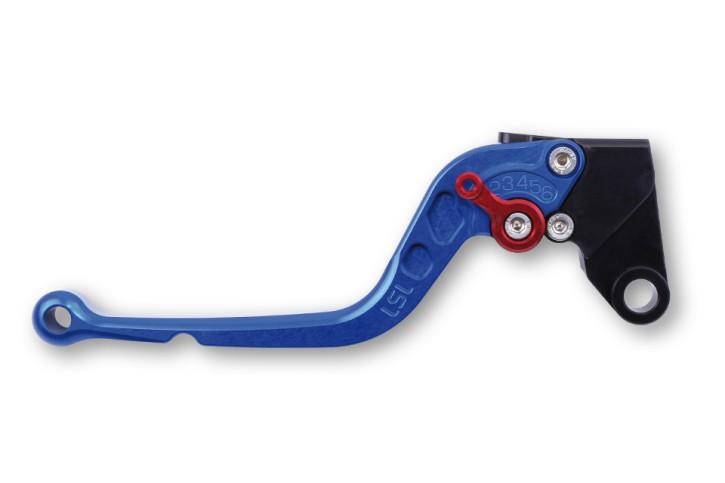 LSL Clutch lever L56R, blue/red