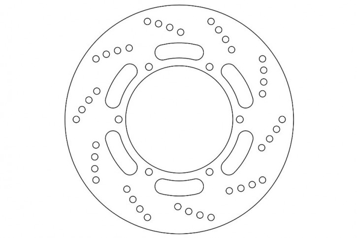 FERODO Brake disc FMD0175 R