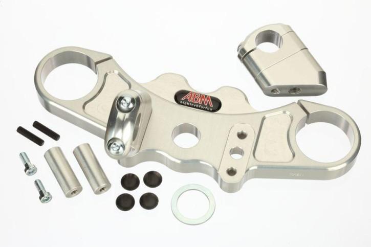 ABM Superbike top yoke ZX-9 R, 02-19, silber
