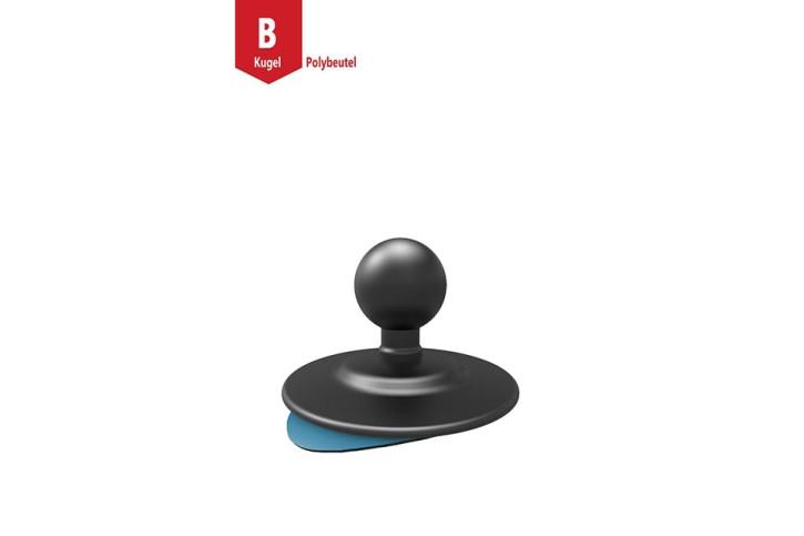 RAM Mounts Klebeplatte für glatte Oberflächen mit Verbundstoff-Basis - B-Kugel (1 Zoll)