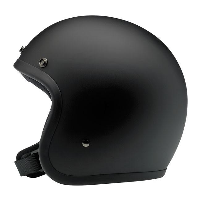 BILTWELL BONANZA Jet-Helmet black denim