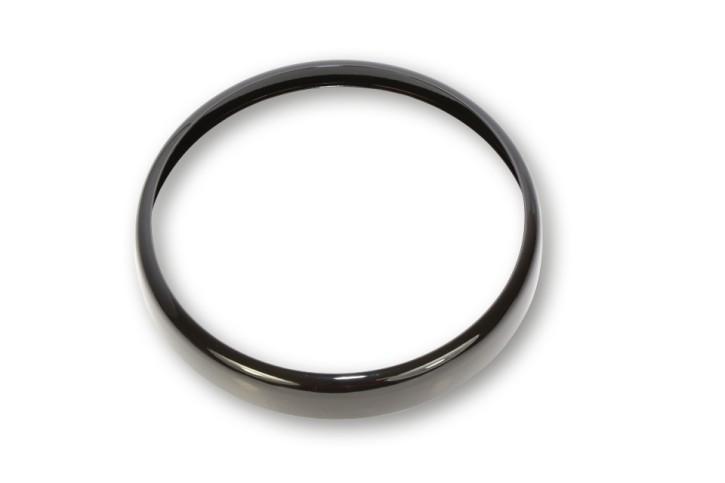 SHIN YO Lampenring für 7 Zoll Scheinwerfer RENO, schwarz glänzend