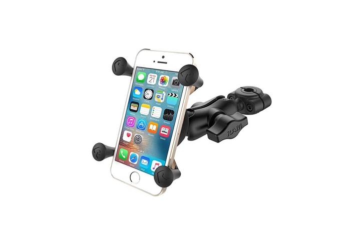 RAM Mounts Torque Motorradhalterung S (Lenker/Rohre) X-Grip Uni-Halteklammer für Smartphones