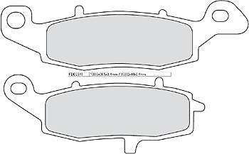 FERODO Disc brake pad FDB 2048 CP 1