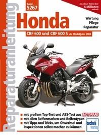Motorbuch Engine book No. 5267 repair instructions HONDA CBF 600/S, 04-