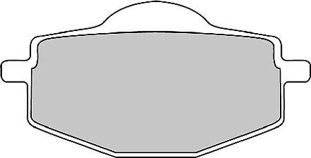 FERODO Disc brake pad FDB 383 EF