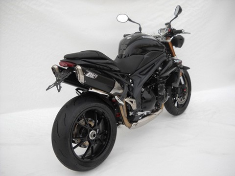 ZARD Silencer PENTA TRIUMPH Speed Triple 1050, 11
