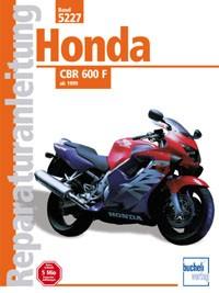 Motorbuch Engine book No. 5227 repair instructions HONDA CBR 600 F, ab 99
