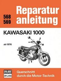 Motorbuch Engine book No. 568 repair instructions KAWASAKI 1000 ab1976