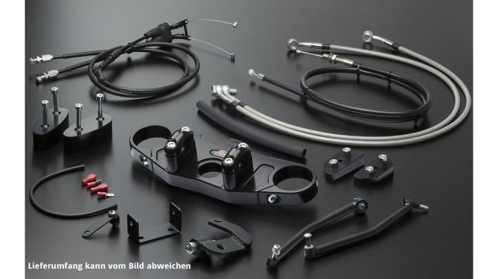 ABM Superbike Kit ZX-7 R, 96-19, silver, transparent/silver