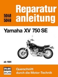 Motorbuch Bd. 5048-5049 Reparaturanleitung YAMAHA XV750 SE 81-