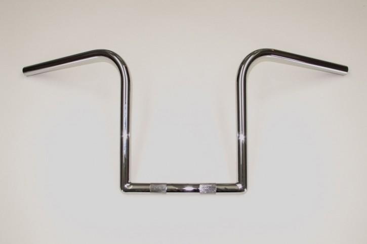 FEHLING FEHLING Z-handlebar LZR, 7/8 inch high, chrome