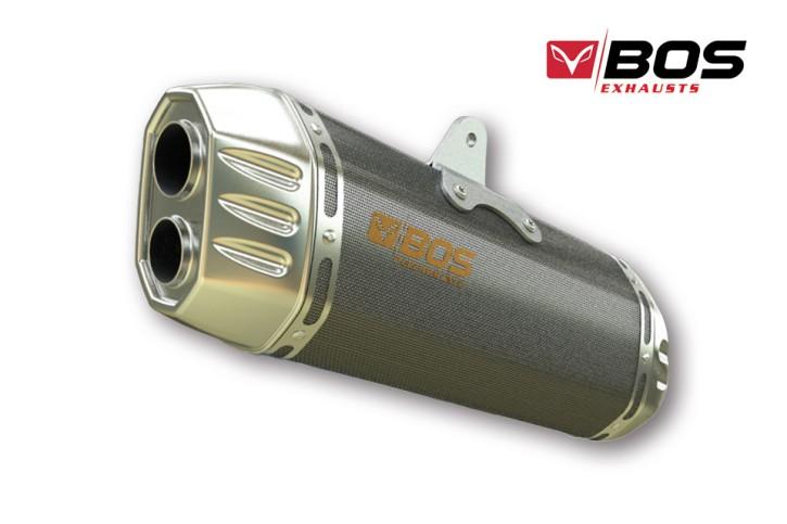 BOS BOS Endtopf Desert Fox, carbon steel, KTM 1090 Adv./R, 17-, 1290 Super Adv. R/S/T, 17- (Euro4)