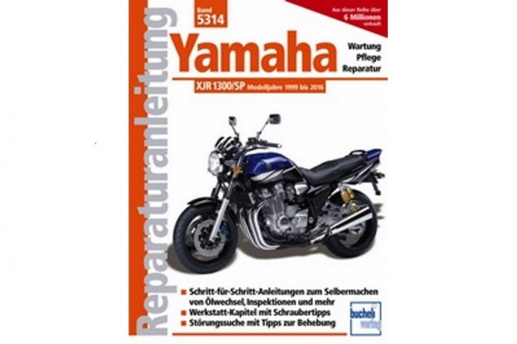 Motorbuch Engine book No. 5314 repair instructions YAMAHA XJR 1300 /SP 99-16