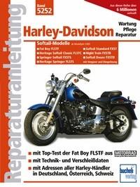 Motorbuch Bd. 5252 Reparatur-Anleitung HARLEY DAVIDSON Softail-Modelle mit Vergaser und E