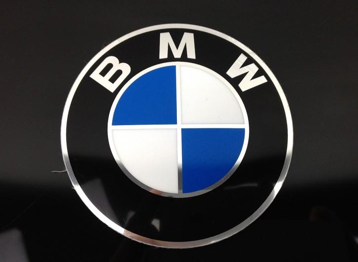 BMW LOGO AUFKLEBER Tankemblem 70mm