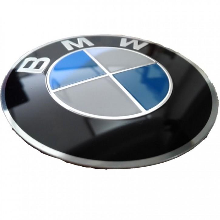BMW LOGO AUFKLEBER Tankemblem Ø70mm