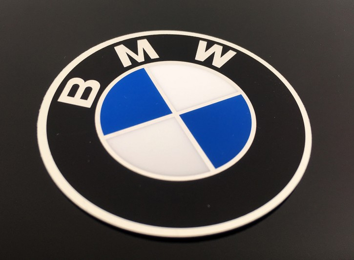 BMW sticker 60mm metal